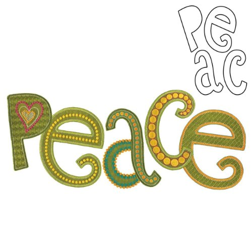 Accuquilt Go! Peace By Sarah Vedeler front-596074