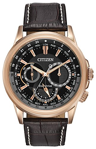 citizen-watch-calendrier-mens-quartz-watch-with-black-dial-chronograph-display-and-dark-brown-leathe