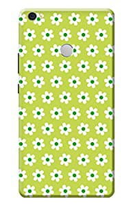 Kanvas Cases Printed Back Cover For Xiaomi Mi Max (Multi-Coloured) With Mobile Viewing Stand