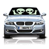 Aliens Double-Sided Car Sunshade