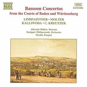 Lindpaintner/Molter/Kreutzer/Kalliwoda: Bassoon Concertos
