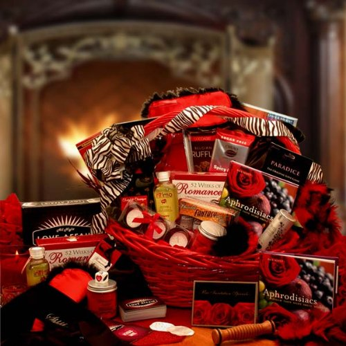Naughty Nights Romance Gift Basket