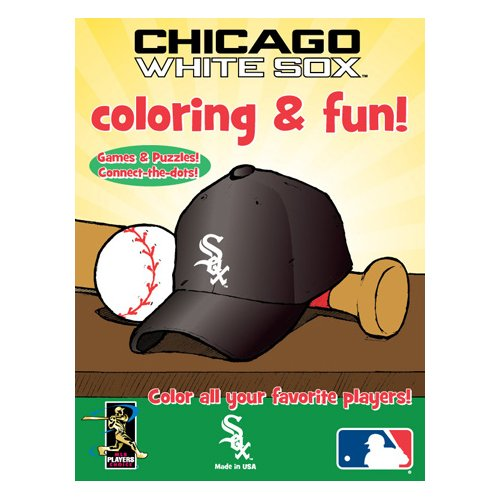 Hawk's Nest Publishing MLB Chicago White Sox Coloring Book