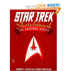 The Star Trek Sketchbook by Herbert F. Solow and Yvonne Fern Solow