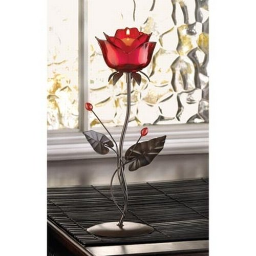 Gifts & Decor Romantic Rose Votive Candle Holder Wedding Centerpiece