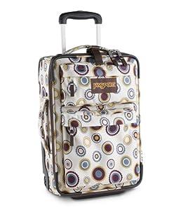"""JanSport 19"""" Upright Carry On wheeled suitcase"""