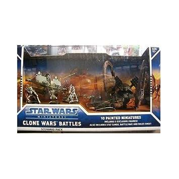 Wizards of the coast - STAR WARS Miniatures: SCENARIO PACK - Clone Wars Battles