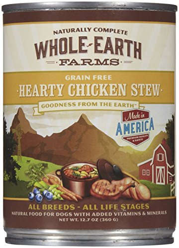 Merrick Whole Earth Farms Hearty Chicken Stew - 12 x 12.7 oz - 1