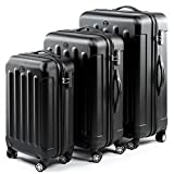 FERG� Trolley set LYON - 3 suitcases hard-top cases - three pcs...