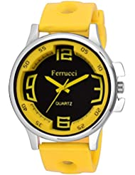 Agile Analog Multicolor Dial Yellow Strap Wrist Watch For - Men, Boys