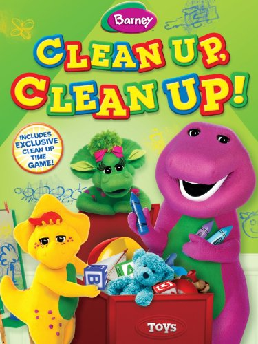 Barney: Clean Up, Clean Up! front-558666