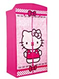 Worlds Apart 295HEK01 Hello Kitty Kleiderschrank aus Stoff