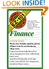 Finance (Barron's EZ-101 Study Keys)