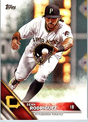 2016 Topps Series 2 #558 Sean Rodriguez Pittsburgh Pirates Baseball Card