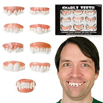 Accoutrements Gnarly Teeth 9 Pack