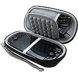 co2CREA Semi-hard EVA Shockproof Protective Carry Travel Storage Case Bag for Sony Playstation Vita PSVita 1000 2000 (slim version) psv1000 psv2000 PSV 1000 2000 with built-in game memory card holder