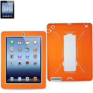 Waterproof Case//Cover with padding and detachable strap for iPad,iPad2,iPad3.red