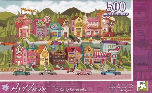 ArtBox 500 Pc Puzzle Art by Kelly Samuelle - 1