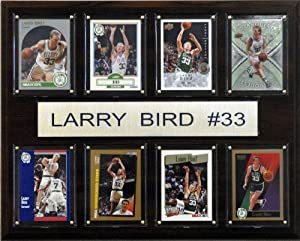 NBA Larry Bird Boston Celtics 8 Card Plaque by C&I Collectables