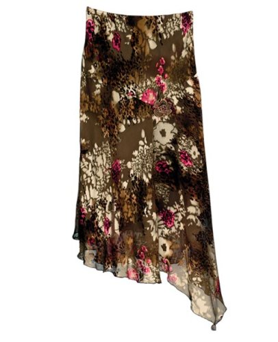 Charmeuse Burn-Out Skirt - Buy Charmeuse Burn-Out Skirt - Purchase Charmeuse Burn-Out Skirt (J. Marco, J. Marco Skirts, J. Marco Womens Skirts, Apparel, Departments, Women, Skirts, Womens Skirts)