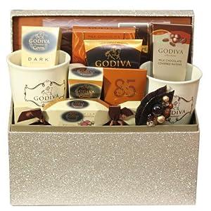Godiva Gourmet Wamer Chocolate Gift Basket