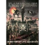 Iron Maiden holding A matter of life and death Poster print Great gift for men and women/siamvirgin
