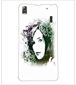 PrintDhaba Face D-5613 Back Case Cover for LENOVO A7000 (Multi-Coloured)