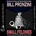 Small Felonies: Fifty Mystery Short Stories Audiobook by Bill Pronzini Narrated by Aze Fellner