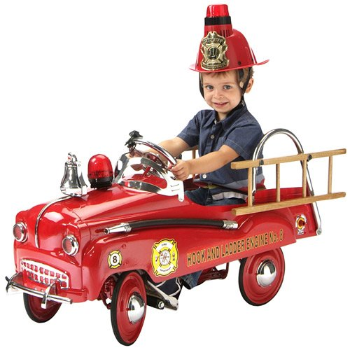 Buy Rescue Fire Truck Pedal Car