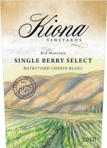 2010 Kiona Vineyards And Winery - Single Berry Select Botrytised Chenin Blanc Ice Wine 375 Ml