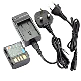 DSTE® BN-VF707U Replacement Li-ion Battery + Charger DC32U for JVC BN-VF707, BN-VF714 and JVC GR-D29, GR-D239, GR-D240, GR-D244, GR-D245, GR-D246, GR-D247, GR-D250, GR-D253, GR-D270