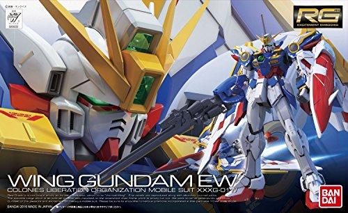 RG 新機動戦記ガンダムW Endless Waltz XXXG-01W ウイングガンダム EW 1/144スケール 色分け済みプラモデル