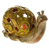 Ceramic Snail Accent Light