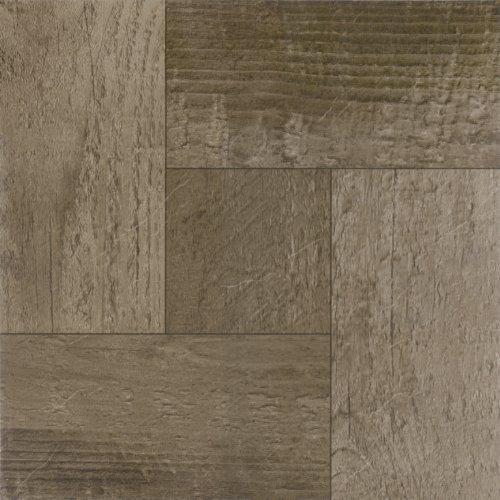 Achim Home Furnishings FTVWD22720 Nexus 12-Inch Vinyl Tile, Wood Rustic Barn, 20-Pack