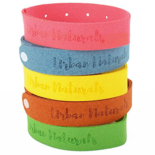 mosquito-repellent-bracelet-100-natural-ingredients-no-deet-family-bundle-5-multicolor-bands-pack-up