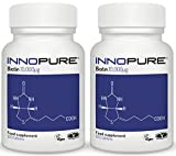 Innopure Biotin Super Saver Pack, 10,000µg | UK Manufactured to Pharmaceutical Standards | 240 Tablets from Innopure®
