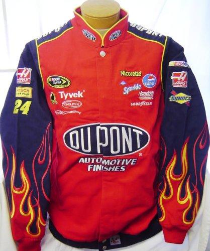Race Car Jackets >> New Chase Authentics Nascar Jeff Gordon 42 Dupont Racing Jacket