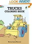 Trucks Coloring Book (Dover Design Co...