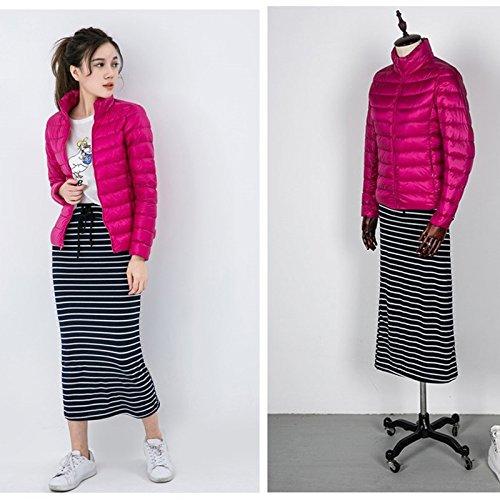 WJP donne ultra leggero rivestimento Packable gi? Outwear tampone piumino W-2445