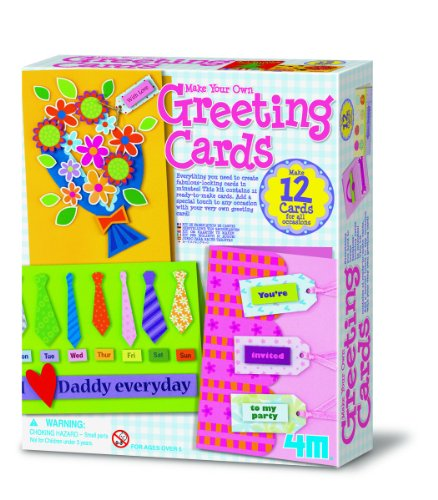 4M Make Your Own Greeting Cards Kit - 1