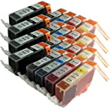 20 CiberDirect Compatible Ink Cartridges for use with Canon Pixma MP640 Printers.