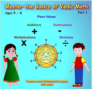 Master the Basics of Vedic Math Part1 Ages 5 to 15 - math ...
