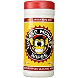 Grease Monkey Wipes Heavy Duty Multi Purpose Cleaning Wipes, 25 Count Canister