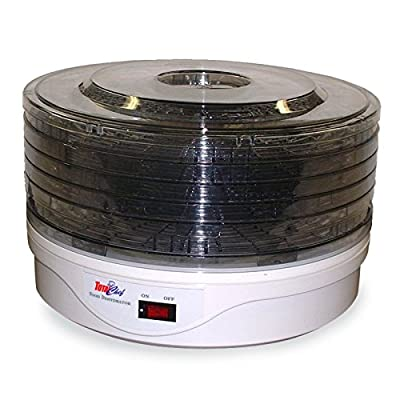 Total Chef TCFD-05 5 Tray Food Dehydrator by Koolatron