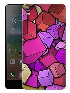 "Humor Gang 3D BoxesPrinted Designer Mobile Back Cover For ""Lenovo A7000 - Lenovo A7000 PLUS - Lenovo A7000 Turbo - Lenovo K3 Note"" (3D, Matte, Premium Quality Snap On Case)..."