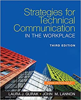 Strategies for Technical Communication in the Workplace (3rd Edition) download