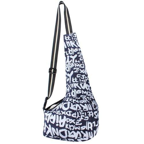 Artikelbild: Oxford Cloth Pet Sling tragbare Taschen einzelner Schulter Beutel (Größe: L)