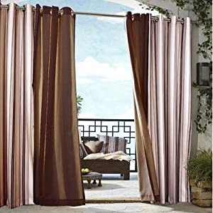 Amazon.com: Outdoor decor Gazebo Stripe Indoor Outdoor Window ...