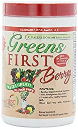 Greens First Berry Nutrient Rich-Antioxidant SuperFood, 10.16 oz