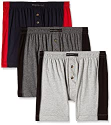 Chromozome Men's Cotton Trunk (Pack of 3) (8902733344531_PR 04_Medium_Coal, Navy and Grey)